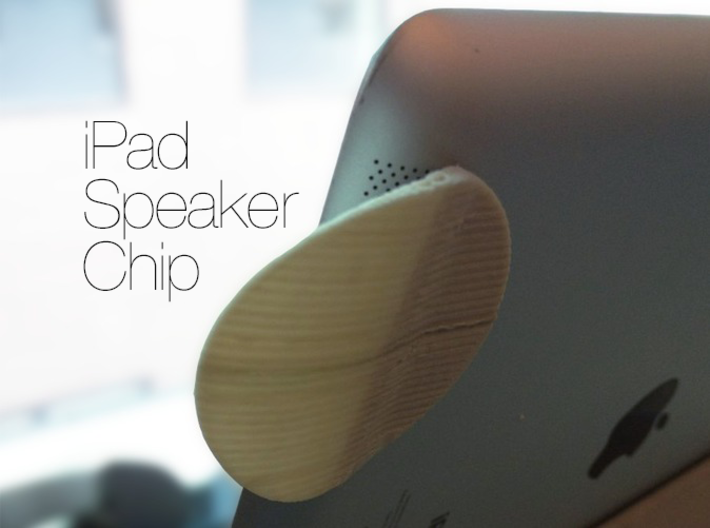 iPad Speaker Chip 3d printed