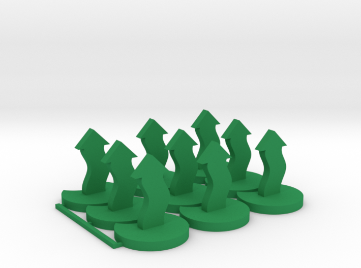 Evade Tokens 3d printed