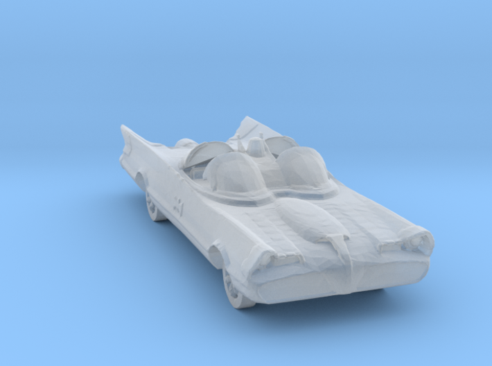 Broken batmobile 3d printed
