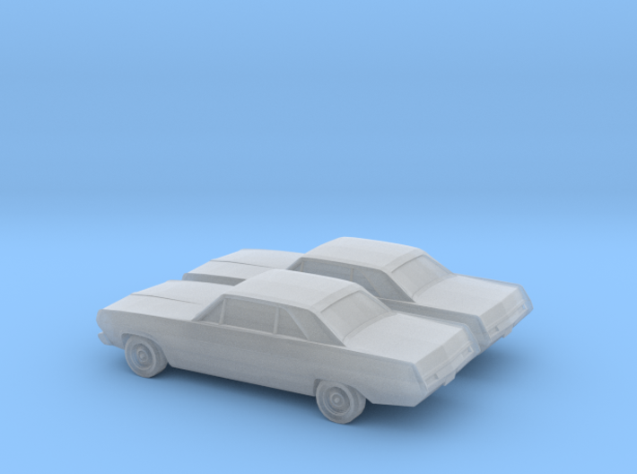 1/160 2X 1971 Plymouth Scamp 3d printed