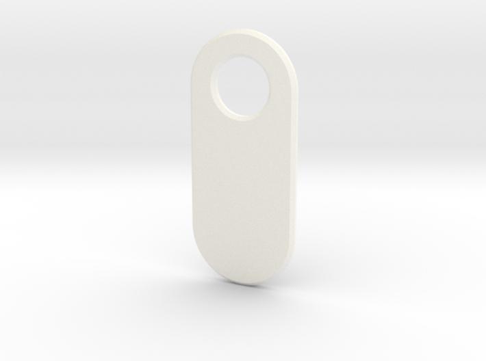 Personalised Keychain Tag 3d printed