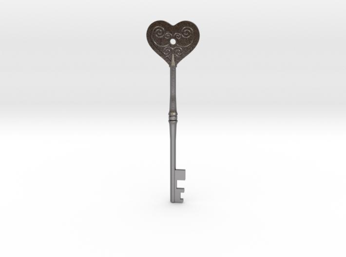 Resident Evil 2: Heart key 3d printed
