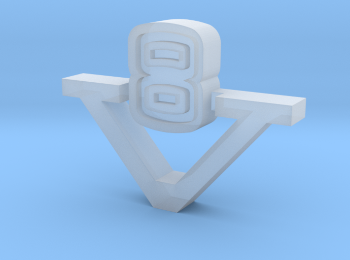 TestV8 3d printed