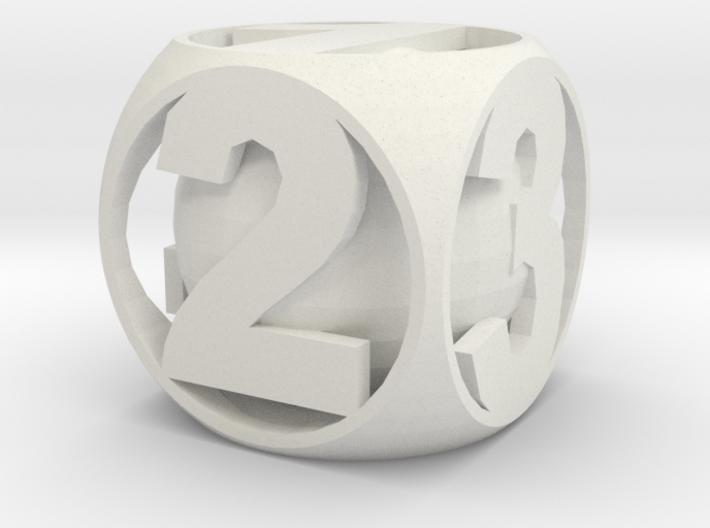 Sane Dice 3d printed