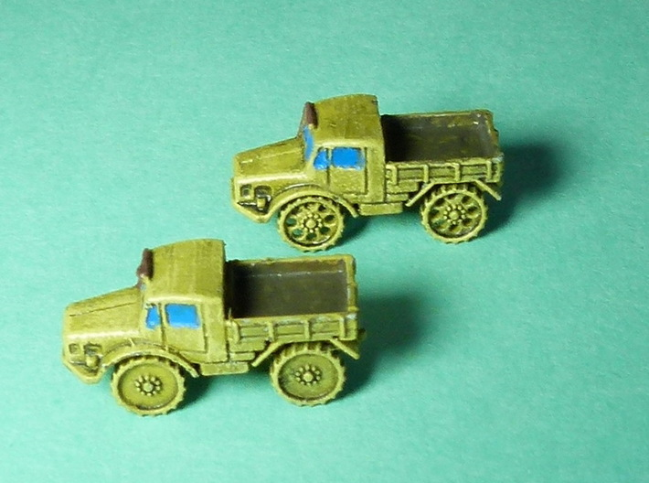Radschlepper Ost solid wheels 1/285 6mm 5pcs. 3d printed