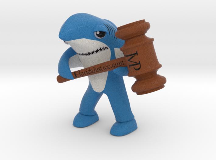 Left Shark Florida Justice 3d printed