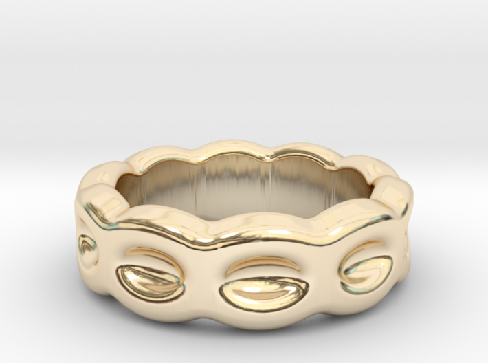 Funny Ring 16 - Italian Size 16 3d printed