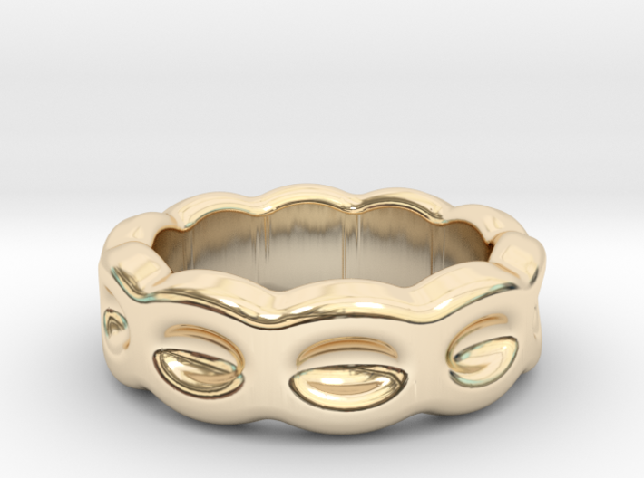Funny Ring 31 - Italian Size 31 3d printed