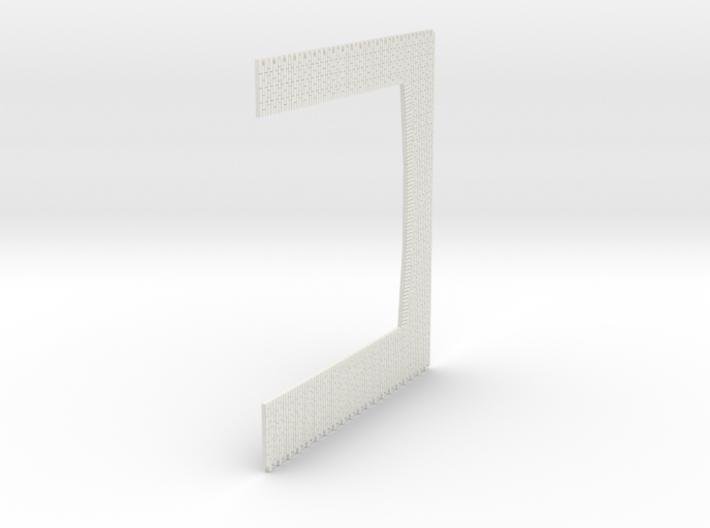 A-nori-tall-wh-doors-bricks-sheet2a 1/76 scale 3d printed