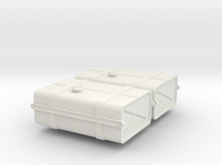 1-24 SAS Jeep Fuel Tanks 3d printed