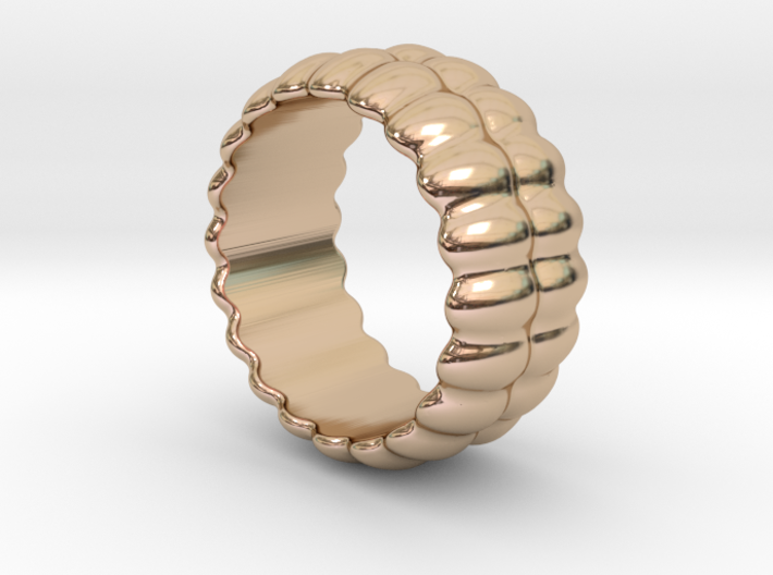 Mirror Ring 30 - Italian Size 30 3d printed