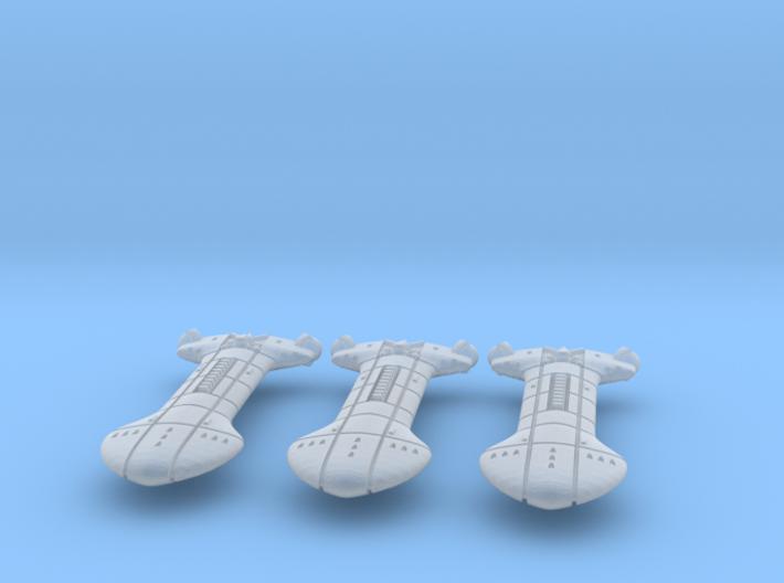 Rigellian (RPSA) Destroyer Datagroup 3d printed