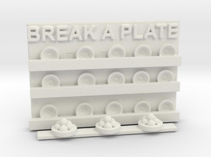 BREAK A PLATE 3d printed