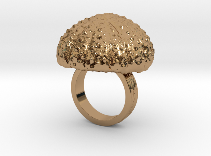 Urchin Statement Ring - US-Size 4 (14.86 mm) 3d printed