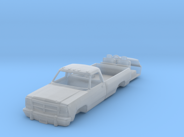 1/64 First Generation Dodge Pickup 3d printed