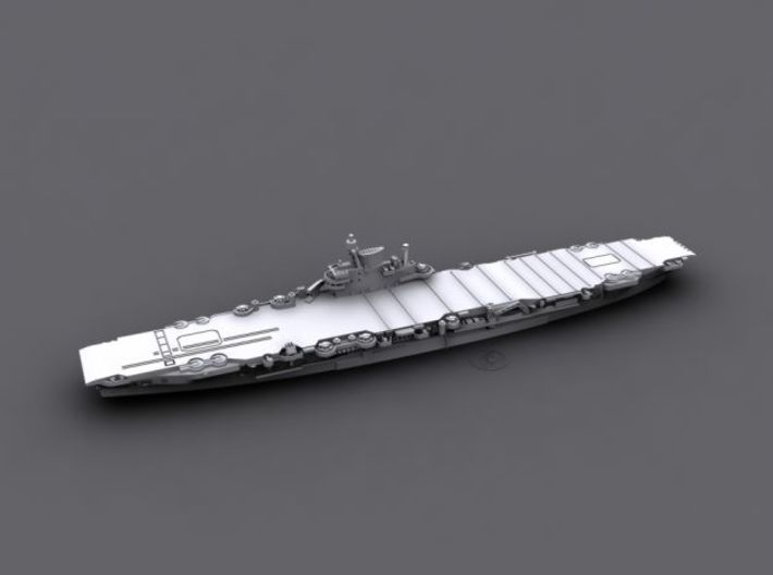 1/3000 HMS Indefatigable [1945] (x2) 3d printed Computer software render