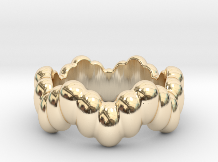 Biological Ring 15 - Italian Size 15 3d printed