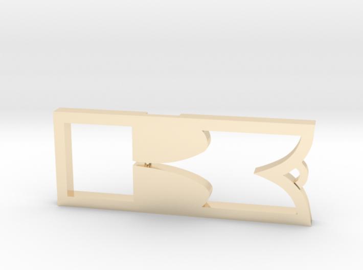Kawasaki Keychain 3d printed