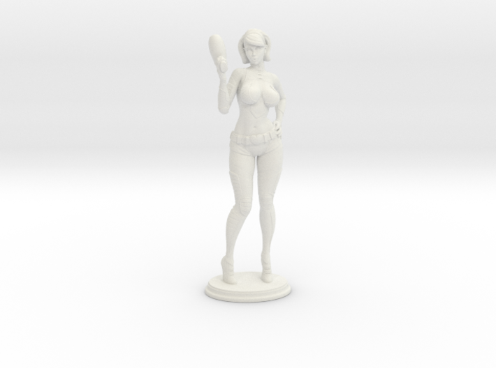 Spacegirl Lana RPG 32mm Mini 3d printed