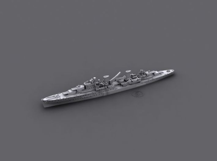1/2400 RAN Modified Leander CLs (x3) 3d printed Computer software render