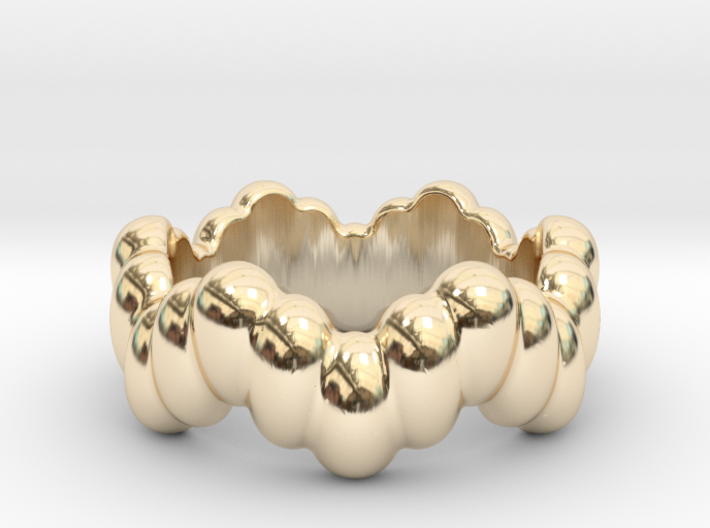 Biological Ring 17 - Italian Size 17 3d printed
