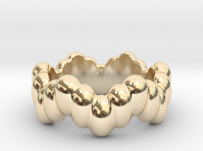 Biological Ring 21 - Italian Size 21 3d printed