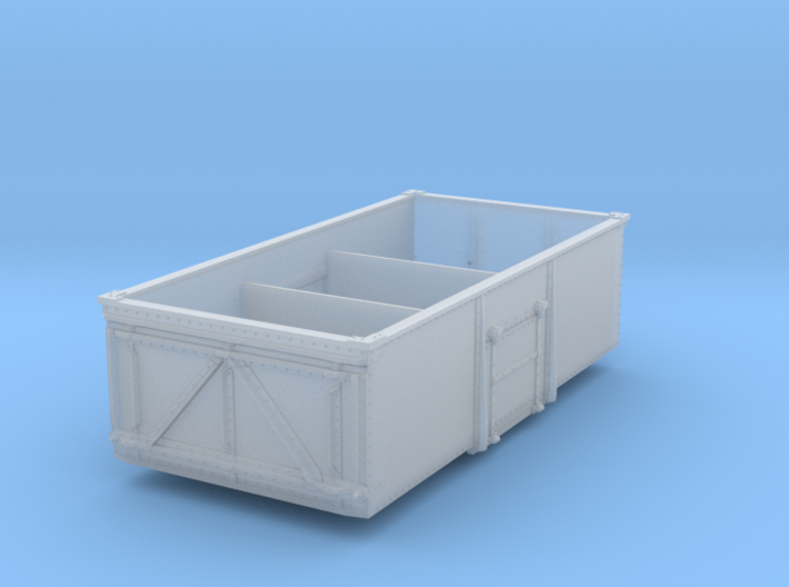Steel-built 13t Private Owner Coal Wagon 3d printed