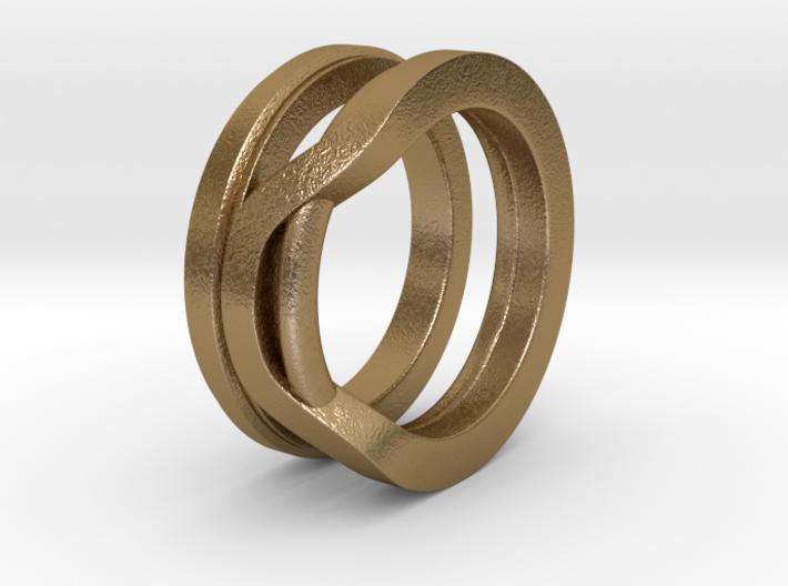 Balem's Ring1 - US-Size 6 (16.51 mm) 3d printed