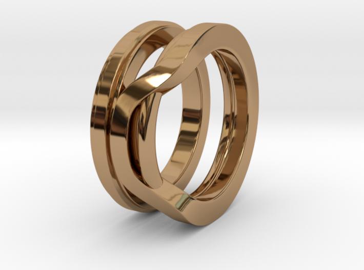 Balem's Ring1 - US-Size 11 (20.68 mm) 3d printed