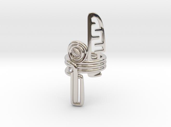 Balem's Ring3 - US-Size 8 1/2 (18.53 mm) 3d printed