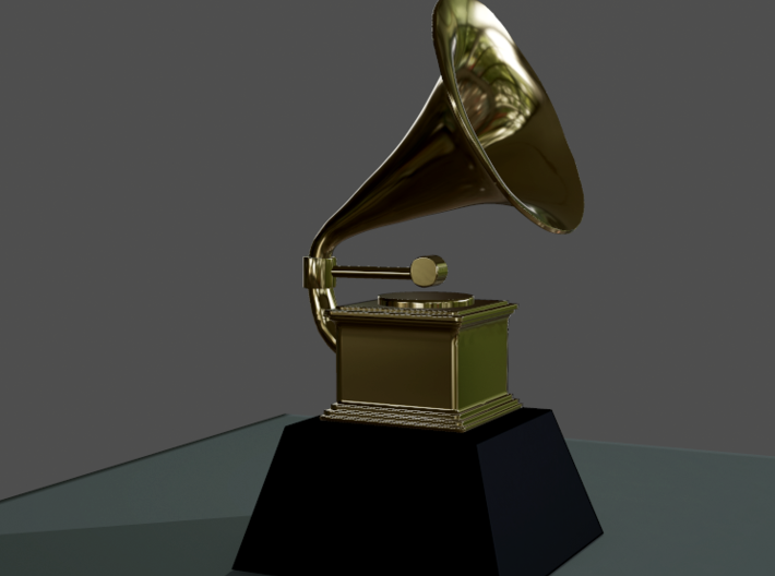 Customizable Grammy 3d printed
