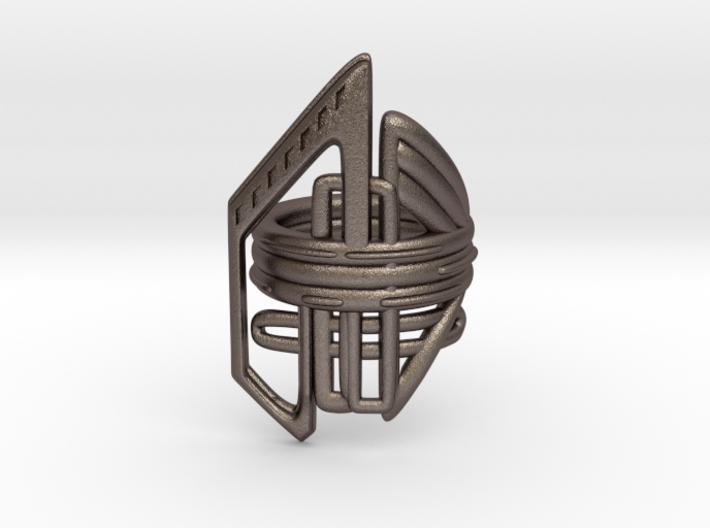 Balem's Ring2 - US-Size 8 (18.19 mm) 3d printed