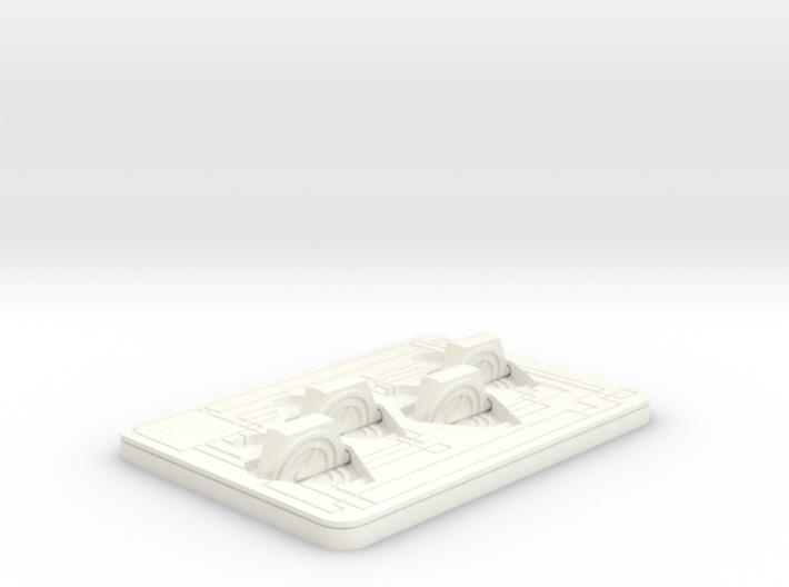 Click Tracker - Custom image - Netrunner 3d printed