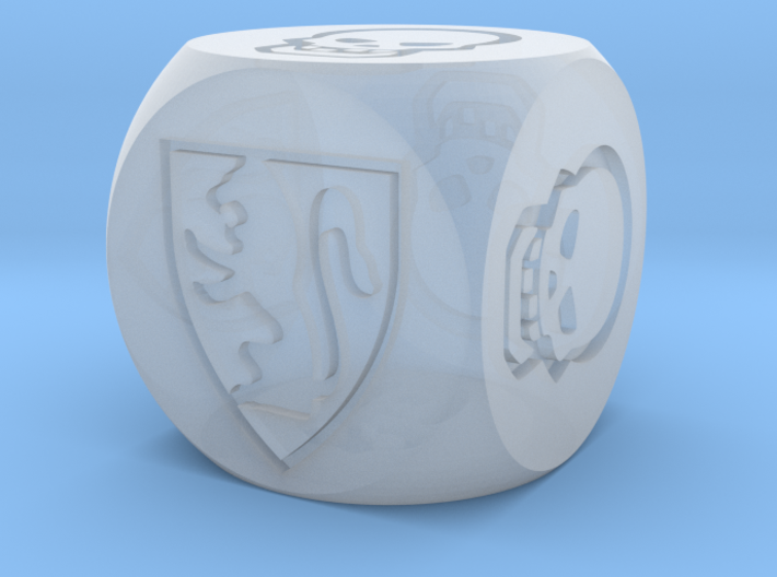 HeroQuest Die (13mm) 3d printed