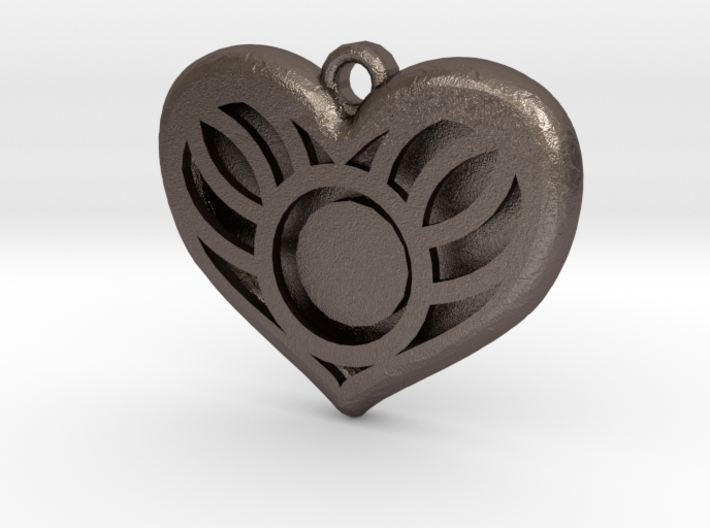 You Are In My Heart Pendant 3d printed