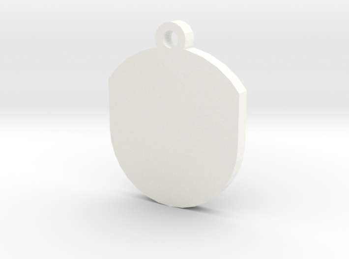 Customisable Insert for Circular Frame Pendant 3d printed