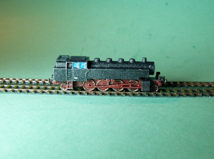 Steam Loco / Dampflok 1/285 6mm 3d printed