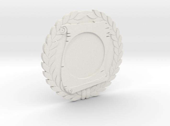 "Immortan Joe ""Scroll"" Badge / Medal 3d printed"