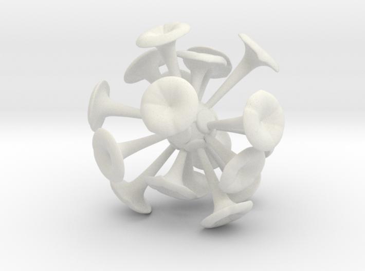 Discosphaera Desk Sculpture 3d printed