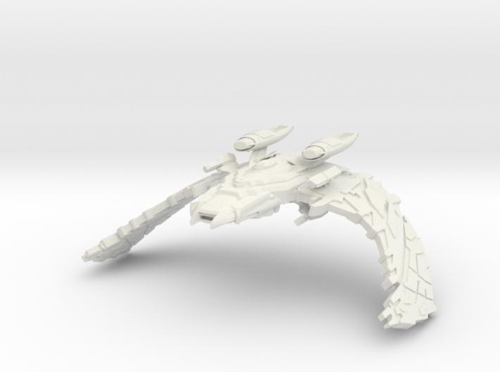 Scimitar Class Warbird 3d printed