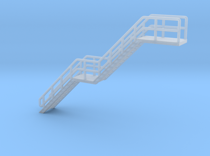 N Scale Stairs H=30.8mm 3d printed