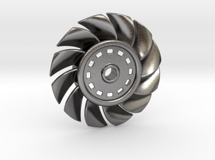 12 Blade Fan - Keychain 3d printed