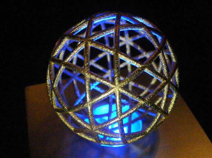 Star Cage Circles 45mm X 2mm 3d printed Can you take 12 circles and make them into 12 stars?
