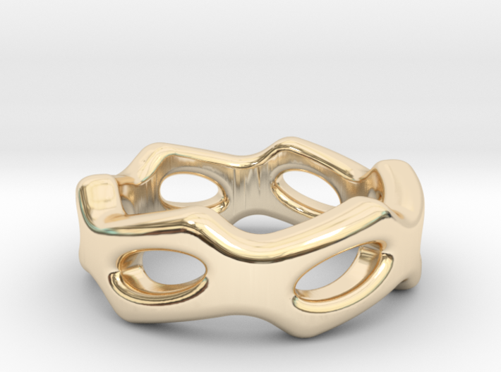 Fantasy Ring 20 - Italian Size 20 3d printed