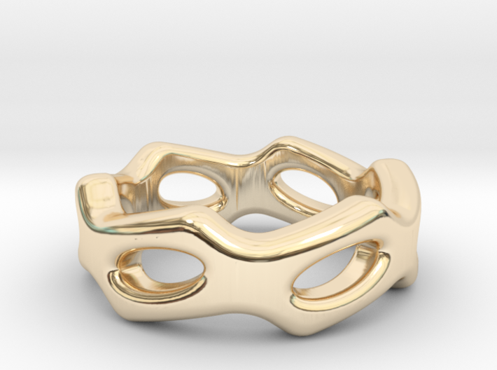Fantasy Ring 22 - Italian Size 22 3d printed