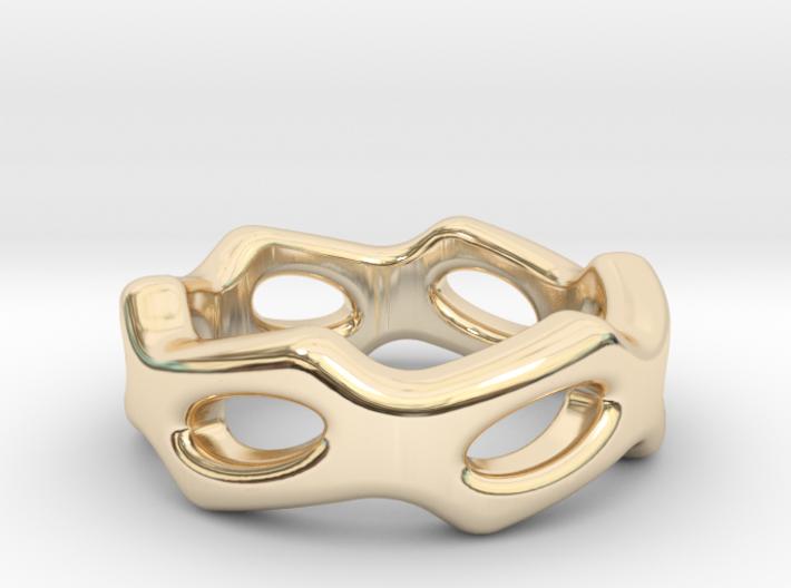Fantasy Ring 26 - Italian Size 26 3d printed
