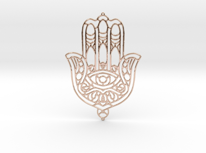 Khamsa (The Hand) 3d printed