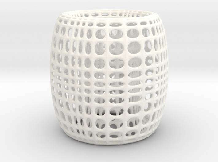 SurfTorus Desk Lamp Cover 3d printed Lamp Shade