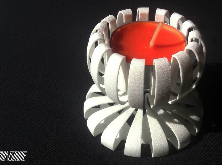 Tea-light Stand 3d printed