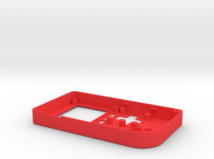 Pocket PiGRRL Case Front 3d printed